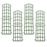 4x Wall Plastic Panel Holder For DIY Wedding Flower Background Backdrop Rack