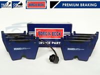 FOR AUDI RS3 RSQ3 QUATTRO 2.5 TURBO 2013- FRONT BORG & BECK BRAKE PAD PADS SET