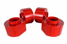 "Jeep Wrangler TJ 2"" Polyurethane Spacer Lift Kit COMPLETE SET OF 4 in RED 97-06"