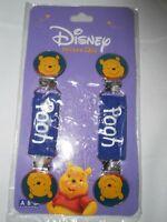New Disney Pair of Winnie the Pooh Mitten Clips