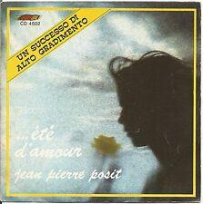 """Jean Pierre posit-Ete 'D' Amour-Vinyl 7"""" 45 LP Italy 1975 VG + Cover VG +"""
