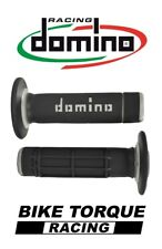 Kawasaki KX125 Domino Diamond Waffle Grips Black / Grey