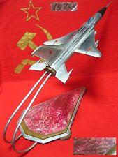 Vintage BIG metal model military FIGHTER SU aircraft plane Soviet Russian USSR