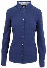 L' ARGENTINA Damen Bluse Women Shirt Langarm Größe 38 M Baumwolle & Elasthan NEU