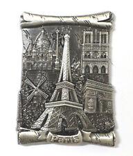 Magnet Aimant Frigo G205AN COULEUR ANCIENNE Souvenir France Paris Métal 7X5 cm