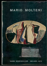 FOSSATI PAOLO MARIO MOLTENI SCULTURE 1967-1972 SCHEIWILLER 1972 PROPOSTE 7 ARTE