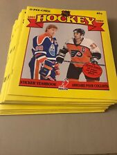 (LOT OF 24)!! 1987 O-PEE-CHEE OPC NHL STICKER ALBUMS - WAYNE GRETZKY COVER