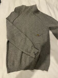 Folk (UK Brand) - Turtle Neck Sweater - Mens Size 3 (S) - Excellent Condition