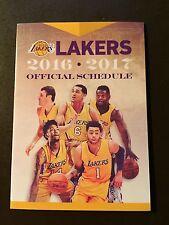 Los Angeles Lakers 2016-17 NBA pocket schedule - Lakers.com