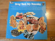LP RECORD VINYL COVER DAF 55, AUSTIN MINI ?,MOPED BRING BACK MY YESTERDAY PHILIP