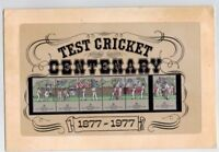 1977 Test Cricket Centenary Stamp Post Office Pack MUH