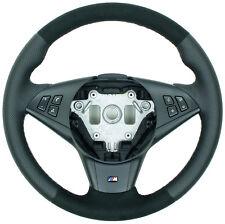 Perfo Alcantara BMW E60 E61 E63 E64 M Lenkrad Lederlenkrad neu bezogen ab 9.2005