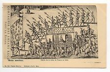 METZ moselle CPA 57 série METZ ANCIEN n° 148 entrée de la reine de france 1606