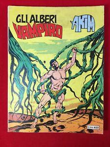 """Fumetto Akim """"Gli alberi Vampiro"""" - N.27 Agosto 1978 (Perfetto++)"""