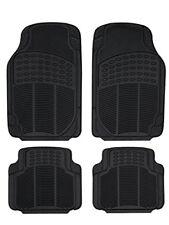 Sumex Conti20 - alfombra goma Universal continental negra 4 piezas