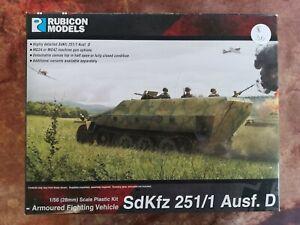 SdKfz 251/1 Ausf. D  - 1/56th 28mm - Halftrack - Rubicon