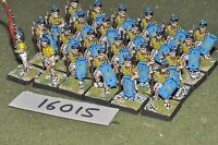 25mm medieval / vietnam - spearmen 24 figs - inf (16015)