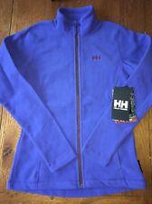 NWT Womens Helly Hansen Purple Polartec Fleece Jacket Size M