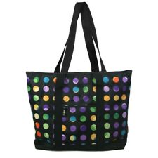 Nurse Tote Bag Polka Dot Zipper Closure Nursing Health Medical RN Carryall
