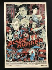 Tyler Stout BLADE RUNNER Red Variant Poster Print Mondo Prints Proof