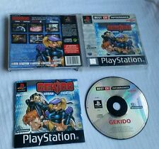 PS1 Playstation 1 Pal Game GEKIDO Complete with Manual Tested Free P&P
