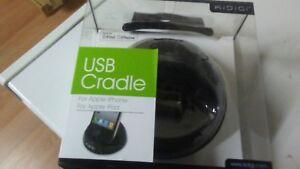 KiDiGi Universal USB Desktop Cradle for Apple iPhone iPod (Black)(LOT OF 50)