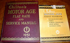 1939-1951 Parts/Repair Books STUDEBAKER CHRYSLER IMPERIAL HUDSON NASH FORD Buick