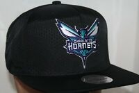 Charlotte Hornets Mitchell & Ness NBA Team Solid Snapback,Hat,Cap   $ 32.00 NEW