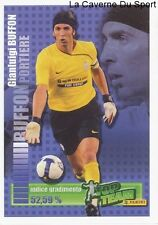 BUFFON # JUVENTUS ITALIA RARE UPDATE STICKER CALCIATORI 2009 PANINI TOP TEAM