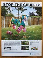 Viva Piñata Microsoft Xbox 360 2006 Vintage Game Poster Ad Pop Art Print Rare