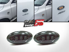 LED Smoke Side Markers Turn Signals Light Blinkers Fits 2004-2008 Mazda 2 3 5
