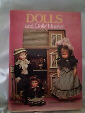 Vintage Doll Book DOLLS AND DOLLS' HOUSES Constance Eileen King,