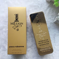 One Million By Paco Rabanne 3.4oz 100ml Cologne EDT French Men's Perfume Spray 1