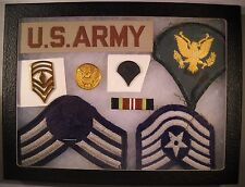 Miltary Patch and Emblem Display