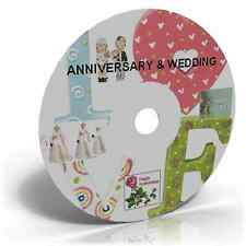 ANNIVERSARY & WEDDING CRAFT CD CARD MAKING STATIONERY