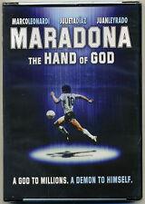 """DVD """"Maradona The Hand Of God"""" New Sealed Spanish Pelicula *La Mano De Dios DVD"""