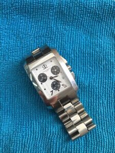 Baume Et Mercier Watch Chronograph Hampton Stainless Steel