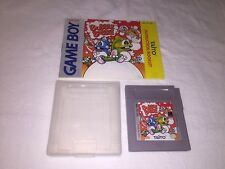 Bubble Bubble (Nintendo Game Boy) GB Game Cartridge w/Manual Nr Mint!