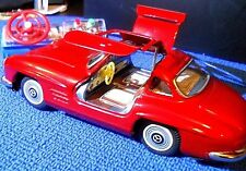 BANDAI TIN MERCEDES 300SLTETHERED R/C 4360 2ND GENERATION, OPERATING GULL WINGS