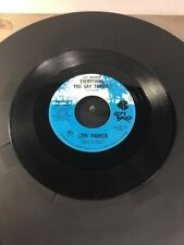 Rare Lori Parker Everything You Say Tonight & Steppin' Out Tonight 45 DJ Promo
