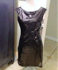 My Michelle Sequin Cocktail Party Holiday Prom Dress Med Homecoming Prom Formal
