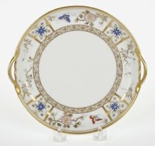 ANTIQUE NORITAKE RC HAND DECORATED DOUBLE HANDLE PLATE C. 1911