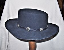 J Hats Americana Collection Men's Medium 100% Wool Cowboy Hat Made in USA EUC