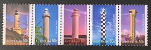 Australia. Lighthouses Gummed Set. SG2628/32. 2006. MNH. (LC317)