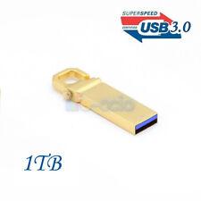 External USB 3.0 Hard Driver 1 TB Memory Flash Drive Pen Metal U Stick Laptop PC