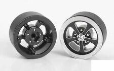 "Ridler 645 1.9"" Internal Beadlock Wheels Z-W0305 RC4WD Classic 5 spoke Black"