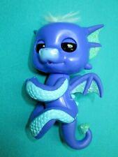 WOWWEE FINGERLINGS INTERACTIVE PURPLE/BLUE BABY DRAGON--AB-73