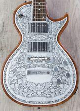 Zemaitis C24MF Casimere Metal Front Guitar, Rosewood Board