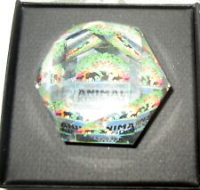Swarovski Crystal Animal Kingdom Paper Weight Mint In Box With Certificate