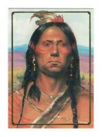 QUANAH Native Americans Indian Trading Card Zina Saunders Art Bon Air B22